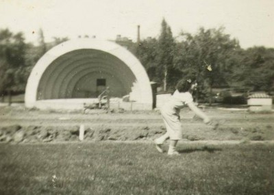 Humboldt Park Milwaukee Band Shell Construction