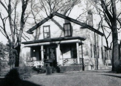 Original Wilcox settlement building existed in the park at 2986 S. Howell until demolition in the late 60's.