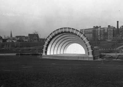 Humboldt Park Pavillion old Band Shell