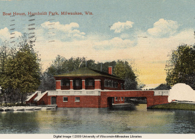 Former Boat House Humboldt Park Milwaukee
