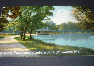 Humboldt Park Lagoon and Boat House