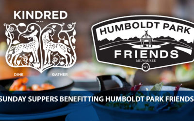 KINDRED on KK will donate 10% of February Sunday Suppers' proceeds to Humboldt Park Friends.